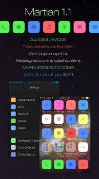 Martian for iOS 8 by HoodielifeDesigns