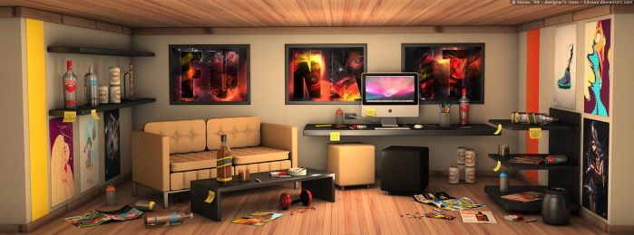 Designer's Room by K3nzuS