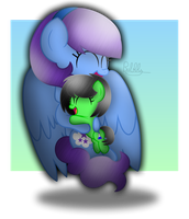 My Sweet Sister [+Speedpaint] by Bubbly-Storm