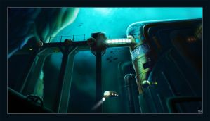 Underwater Facility by Cenomancer