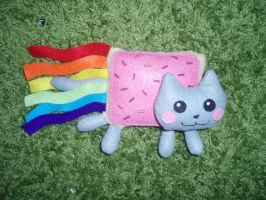Nyan Cat plush by Ishtar-Creations