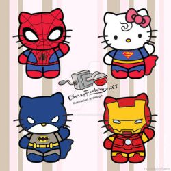 Super Kitty by CherryFactory