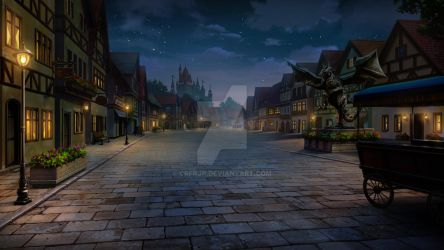 Castlecity - Night by CRFRJP