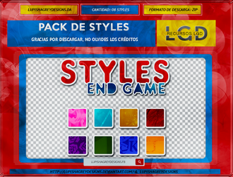 STYLES END GAME by LupishaGreyDesigns