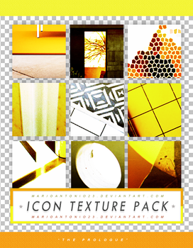 Icon Texture Pack [The Prologue] by marioantonio23