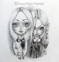 Two Sides of the Same Coin by Mai-Ja