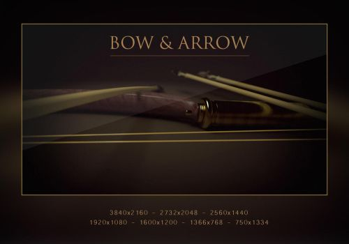 Bow and Arrow Wallpack by abdelrahman
