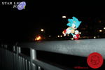 Sonic in Star Light Zone- Pipe Cleaner Figure by PCWOverlord