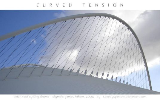 CURVED TENSION by speedysparrow