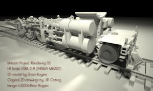 Mikado Project: Rendering 05 by MarcelloRupelli