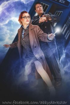10th Doctor and Jack Harkness by AbbyDark-Star