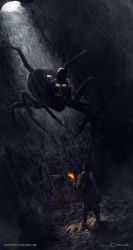 The Drider - collaboration by neverdying