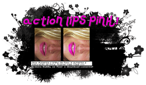 Action_lips pink by Bublla