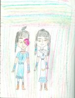 Zuko and Akiko as  a Water Tribe couple by Kelseyalicia