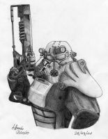 Fallout 3 - Brotherhood of Steel by you95100