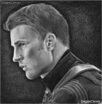 Pencil Drawing: Cap by DegasClover