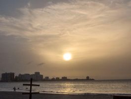 Isla Verde Sunset by tiranaki