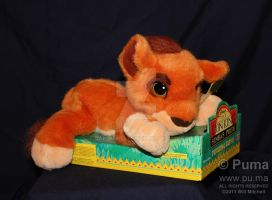 Mattel - Purring Kovu plush by dapumakat