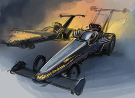 Dragster Monsterrr by Hydrothrax