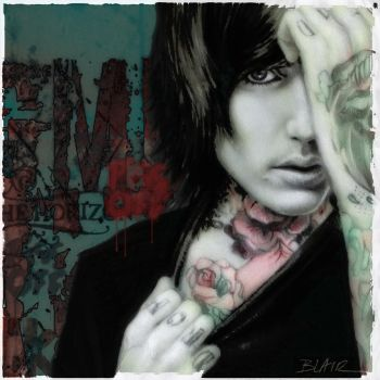 Oliver Sykes by Cynthia-Blair