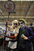 Joker and Harley Quinn at FACTS 2015 by KillingRaptor