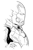 Ironman - Suit Up by DynamixINK