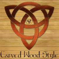 Carved Wood Layer Style by Spiral-0ut