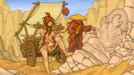 The Pagan and the Pilgrim by ColorCopyCenter