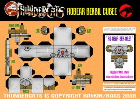 Thundercats - Berbil Cubee by mikedaws