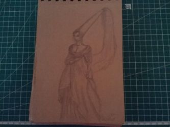 Traditional Sketchbook Medieval study by HannaEsser