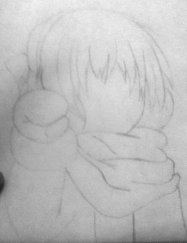 Crappy drawing of Uchio (Clannad: ~AfterStory~) by Shadow3vi1