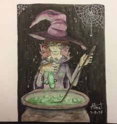 Witchgust Day 1 by AlmaTeresa