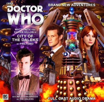 City Of The Daleks | Big Finish Cover by Cotterill23