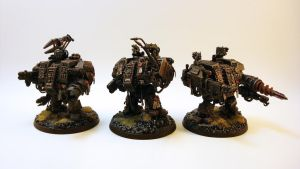 Dreadnoughts Ready for Combat by NicholasKay