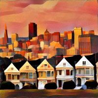 Painting the Painted Ladies by bgiffo