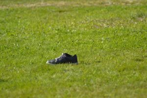 lonely shoes by Luczynka