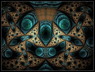 Face in the Fractal by SuicideBySafetyPin