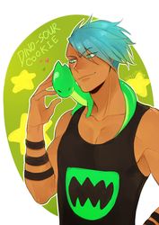 Dino-Sour Cookie by SenlitheringMe