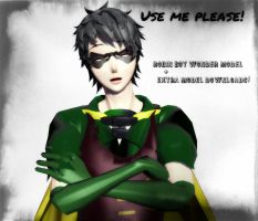 ::Robin Boy Wonder + Extra models DOWNLOAD:: by PrettySkitty16