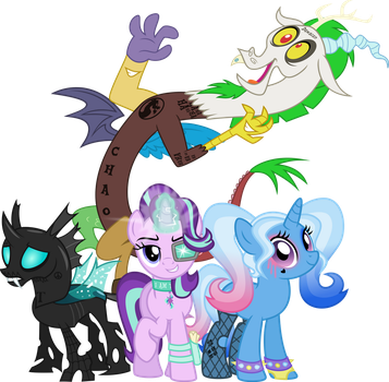 Suicide Squad (MLP version) by Osipush