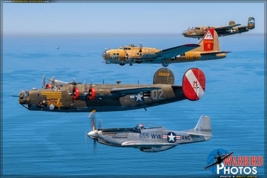Collings Foundation Tour Fleet by warbirdphotographer