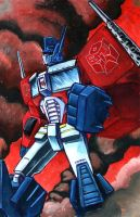 I am Optimus Prime by grim1978