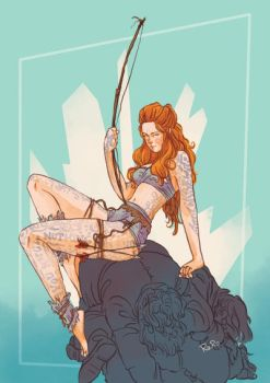 Ygritte Pin Up by RaRo81