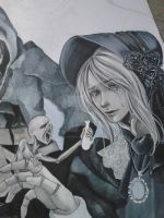 new bloodborne WIP by Hollow-Moon-Art