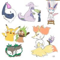 Sketch dump Pokemon