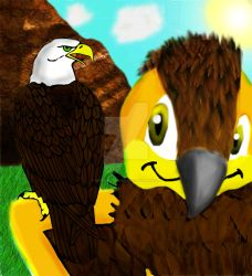 Eagle and Eagle...? by SirSonicBoom3