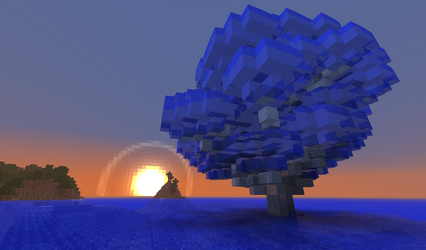 Minecraft: Tree of Water by MythicalGrim