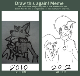 Draw that again by DarkFoxNinja