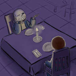 #265 Date With Sans by PayneGray