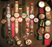 coleccion Swatch by tomegatherion